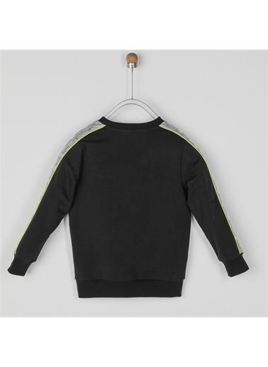 Panço Kız Çocuk Sweatshirt 2021GK08045 Siyah